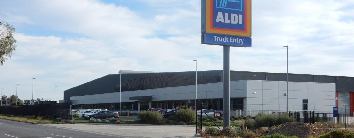 Aldi Distribution Centre Element Control Systems